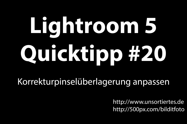 lightroom 5 quicktipp