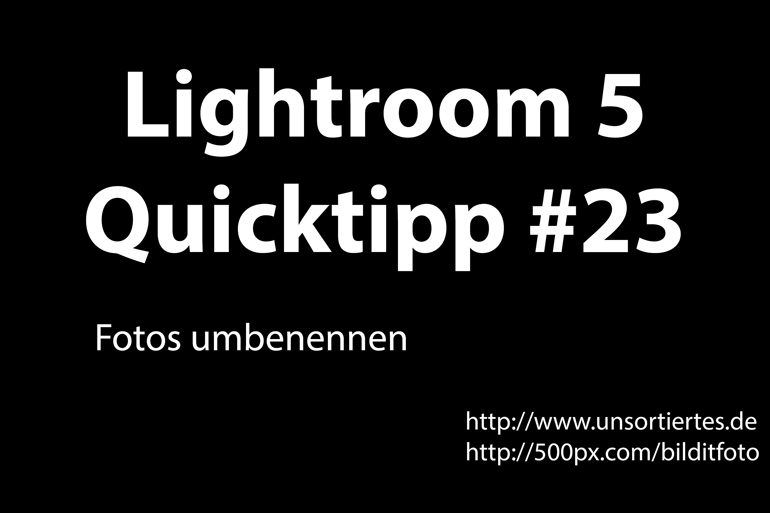 lightroom 5 quicktipp