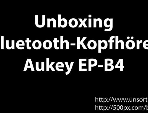 Aukey EP-B4 Bluetooth-Kopfhörer Unboxing