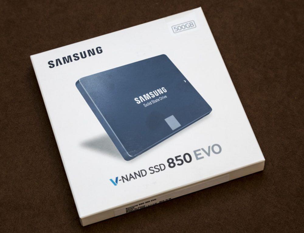 Samsung 850 EVO 500 GB – ein SSD-Upgrade