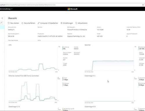 Windows Admin Center – Viele Tools unter einem Dach