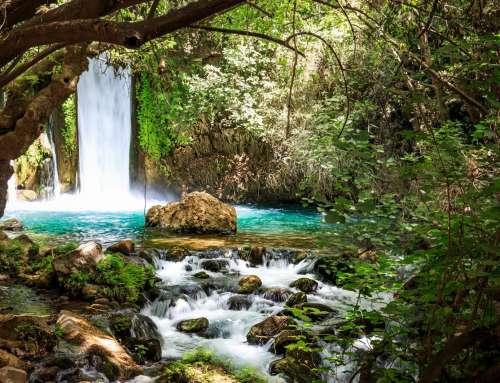 Banias Wasserfall, Israel