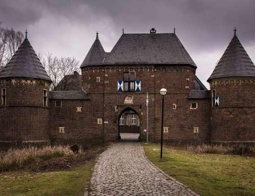 Bedrohliche Burg
