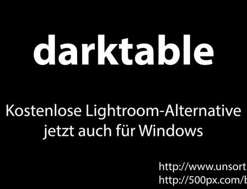 darktable – Lightroom-Alternative für Windows