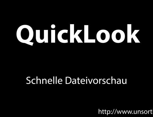 QuickLook – Schnelle Dateivorschau